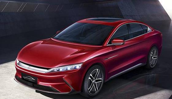 比亚迪1月新能源汽车销量同比增长183%