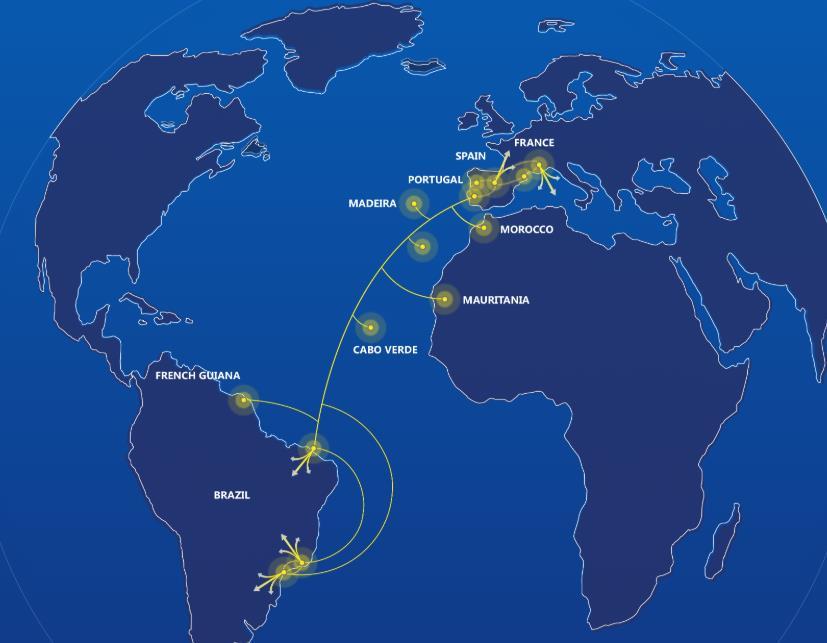 欧洲-拉丁美洲海底光缆系统EllaLink完成海上安装