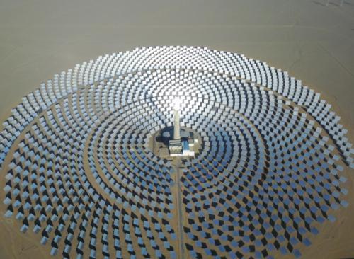 德令哈135兆瓦光热发电项目开建 装机储能规模中国最大