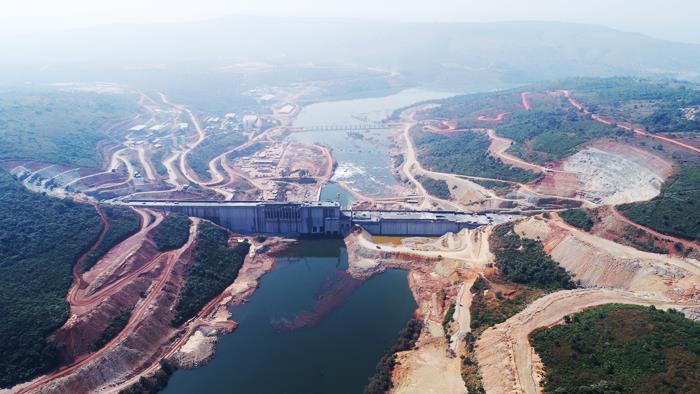 几内亚苏阿皮蒂水电站全部机组投产发电