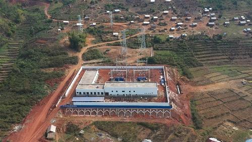 中老铁路老挝段外部供电项目完工 具备投产送电条件