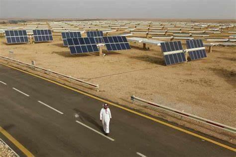 沙特与七个新太阳能项目签署购电协议