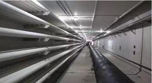 华北地区单线顶管顶进距离最长电力隧道贯通