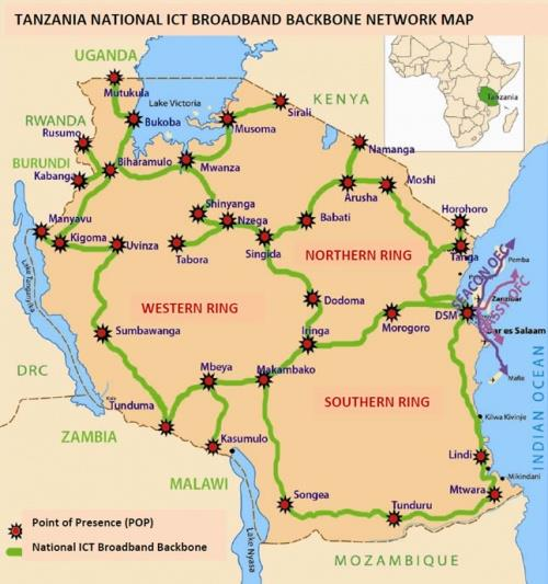 坦桑尼亚筹建新光缆线路连接莫桑比克
