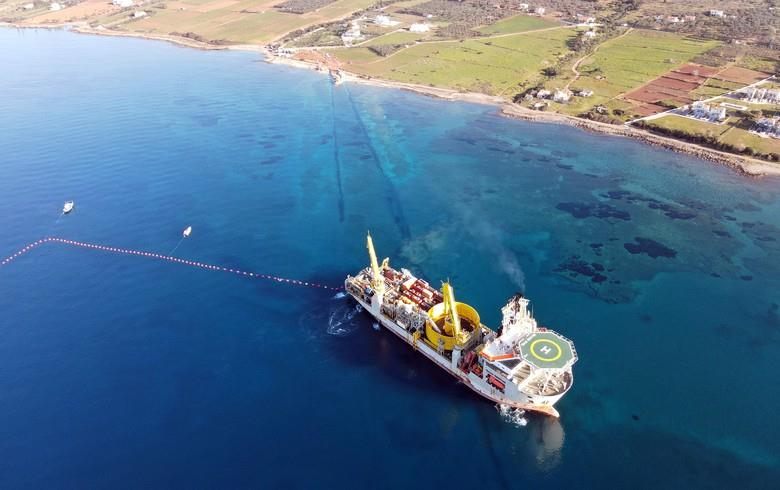 希腊克里特岛首个海底电缆系统投运