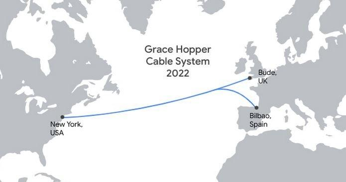 Grace Hopper海底光缆拟于2022年投入商业运营