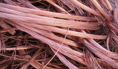 2017年12月废铜进口量同比下滑19.8%