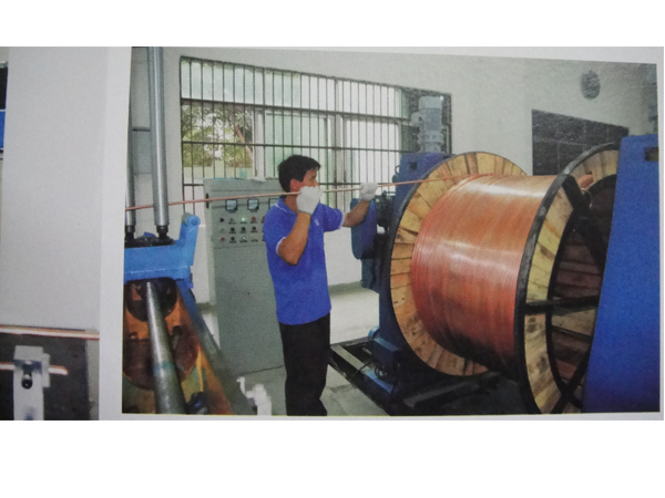 礦物電纜氧化鎂自動灌裝生產線