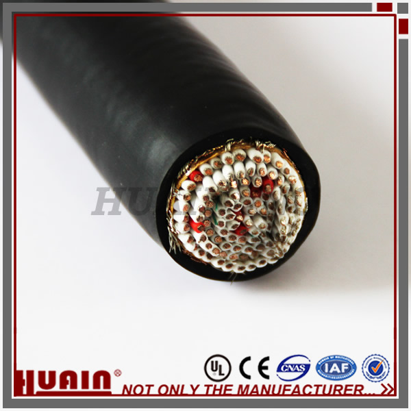 橡膠低煙無鹵核電站用移動軟電纜 訂制電纜