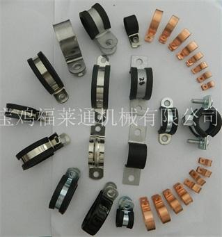 供应陕西电动车带胶条R型喉箍