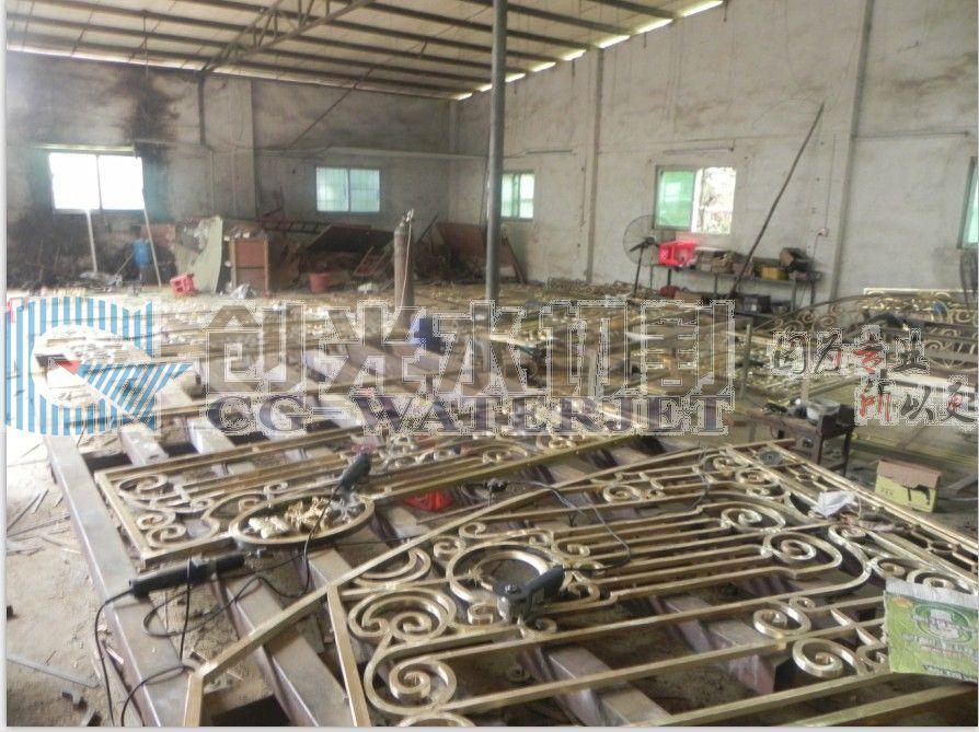 铝花活动型 铝花加工 铝花门