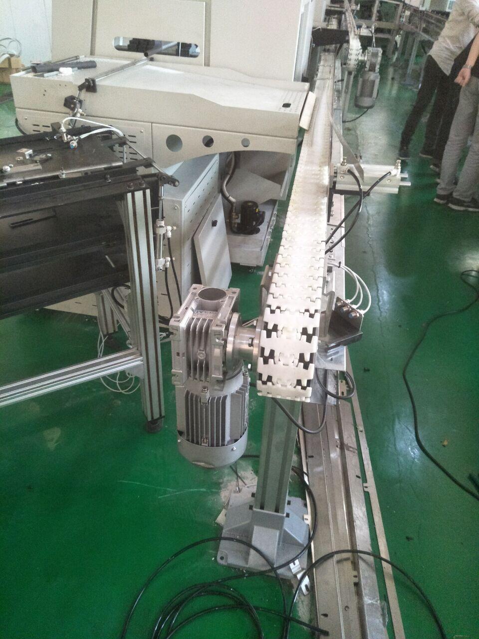 化妆品生产线塑料链板塑钢链板