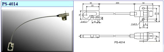 SUGIYAMA杉山电机跳削检测仪用传感器头PS-4014