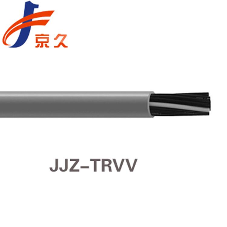 京久供应采煤机CF881中度柔性双护套屏蔽拖链电缆