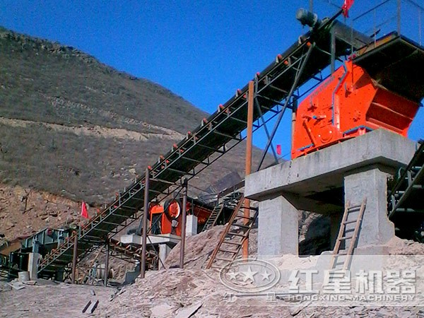 一小時處理兩三百噸的山體石破碎機有哪些LYJ74