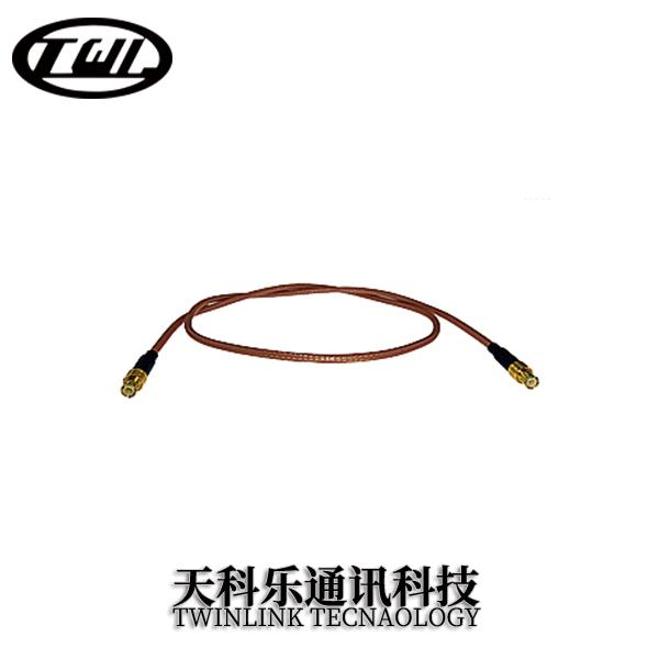 MCX射頻連接器 彎公頭 接RG316線纜