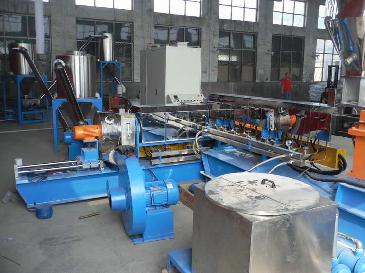 恭乐专业提供两步法硅烷交联电缆料造粒机