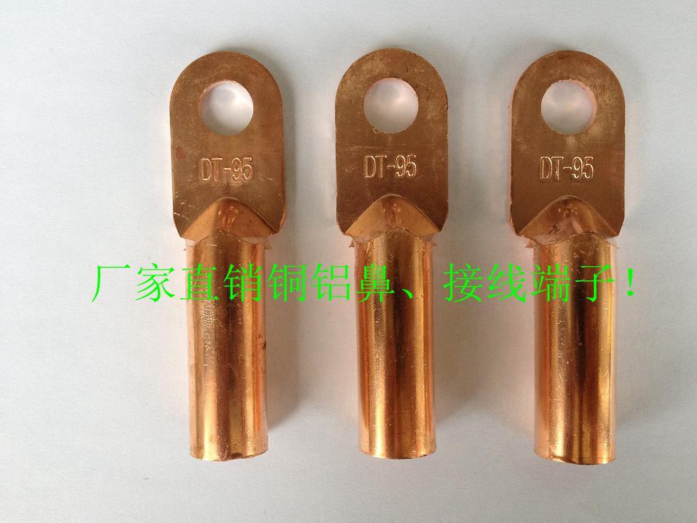 DT-16平方 銅鼻子 線鼻子 銅接線端子 紫銅 堵油
