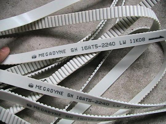 意大利MULCO聚氨酯加鋼絲同步帶透明卡夫拉線同步帶