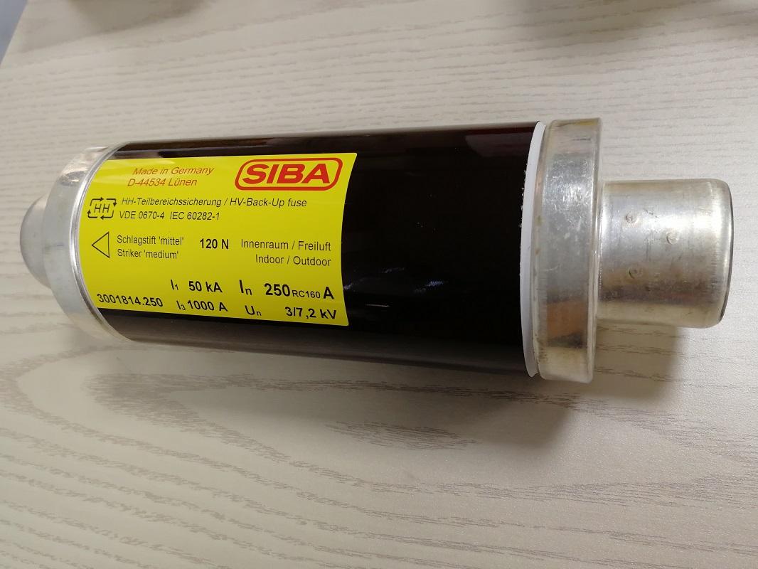 SIBA原裝3000813.25A-HHD-20/36kV-537mm
