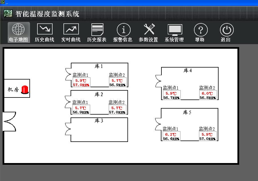 档案馆温度调控系统