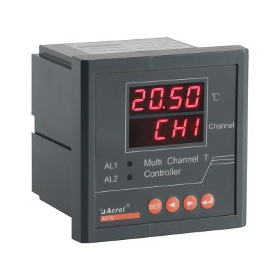 低压开关柜无线测温ARTM-8/JC智能温度巡检仪多回路测量高温告警