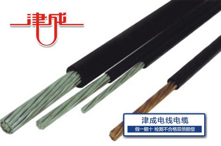 津成聚氯乙烯绝缘架空电缆电线电缆批发30年专注电线电缆