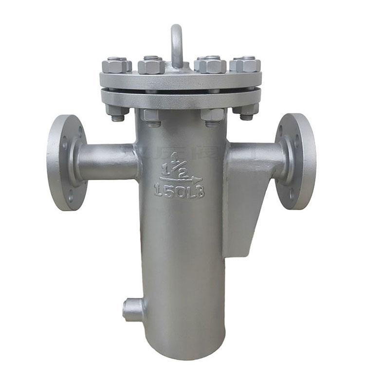 双庆直通LPG不锈钢316L排污DN32U型过滤器定制