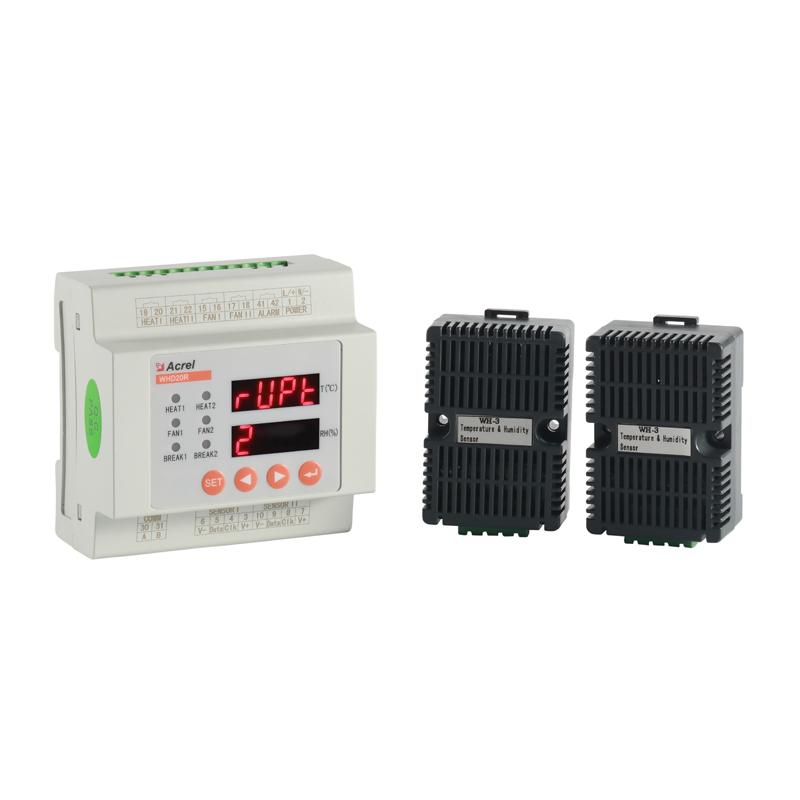 WHD20R-22导轨式智能型温湿度控制仪温湿度控制调节器