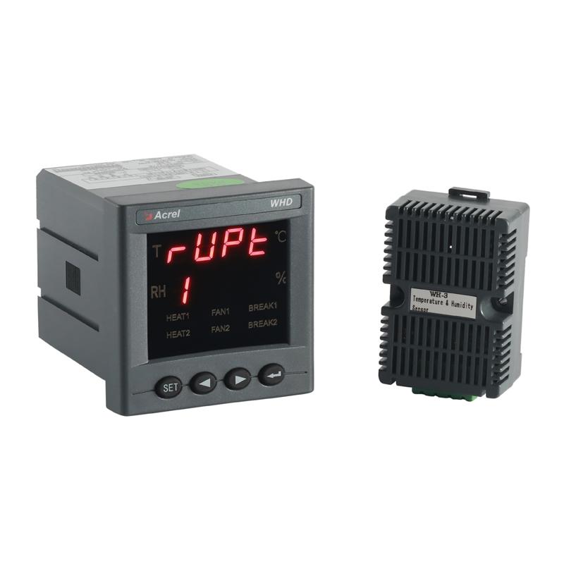 安科瑞WHD72-11智能面板凝露控制器Acre智能型温湿度控制器